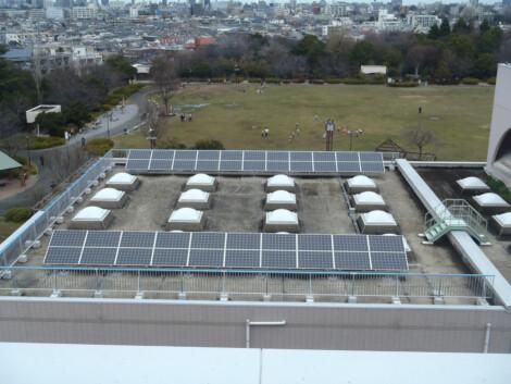 水再生センター太陽光発電設備設置工事