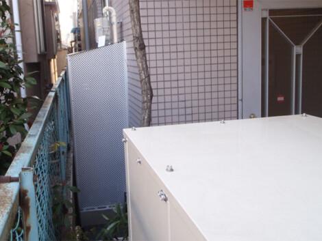 病院敷地内 非常用発電設備設置工事